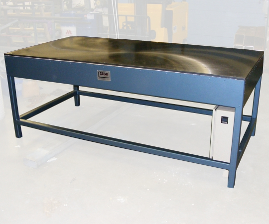 Large Industrial Heated Table