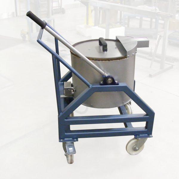 Large Capacity Metal Melters - Tilting Type TET