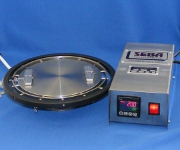 Custom Designed Rotary Hot Plate with Controller, Hot Plates, Custom Hot Plates