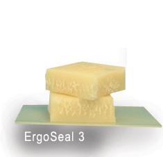 Ergoseal 3 - Core Preservation / Encapsulation Wax Off white coloured, Semi-Translucent, barrier coating of approx. 3mm thick. Hot dip applied.
